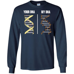 Lehigh Mountain Hawks T shirts Your DNA My DNA Hoodies Sweatshirts