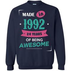 1992 Shirts Made in 1992 of Being Awesome T-shirts Hoodies Sweatshirts
