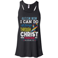 Autism Awareness T-shirts I Can Do All Things Through Christ Who Strengthen Me Shirts Hoodies Sweatshirts