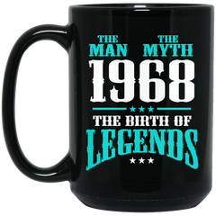 1968 Mug The Man The Myth The Birth Of Legends Coffee Mug Tea Mug