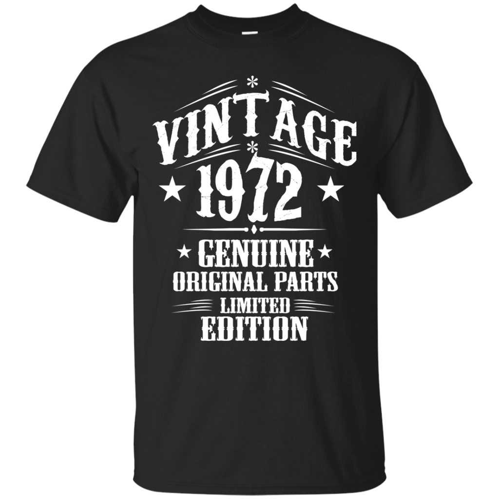 1972 Shirts Vintage Genuine Limited Edition T-shirts Hoodies Sweatshirts - TeeDoggie.Com