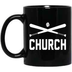 America Mug BASEBALL CHURCH Coffee Mug Tea Mug