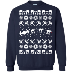 Star Wars shirts Christmas Ugly Sweater Style T-shirts Hoodies Sweatshirts - TeeDoggie.Com