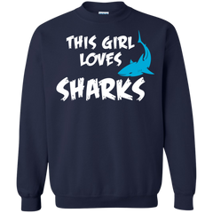 Sharks Shirts This girl loves Shark T-shirts Hoodies Sweatshirts