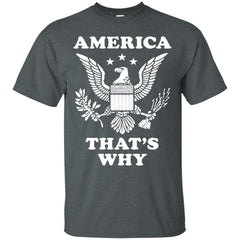 America Shirts AMERICA THAT'S WHY T-shirts Hoodies Sweatshirts