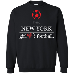 NY Girls football Shirts This NY Girl loves Footbal T-shirts Hoodies Sweatshirts