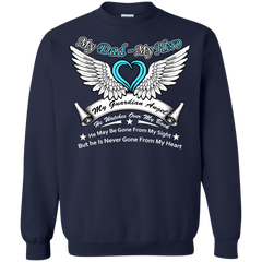Father's Day Shirts My Dad My Hero My Guardian Angle T shirts Hoodies Sweatshirts