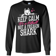 Dog Pitbull Shirts It's A Pitbull not a Shark T-shirts Hoodies Sweatshirts
