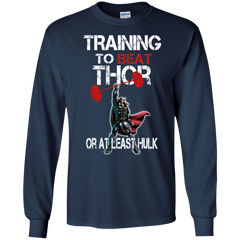 Thor Hulk T-shirts Training To Beat Thor Or At Least Hulk Shirts Hoodies Sweatshirts