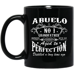 Abuelo Grandfather Mug Number One Grandfather Abuelo Coffee Mug Tea Mug