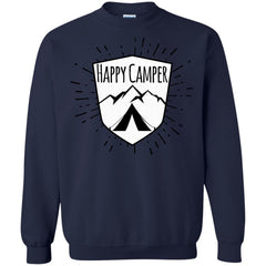 Camping Shirts HAPPY CAMPER MOUNTAINS TENT T-shirts Hoodies Sweatshirts
