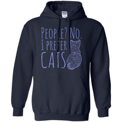 Cat Shirts People NO. I prefer CATS. I prefer CATS T-shirts Hoodies Sweatshirt