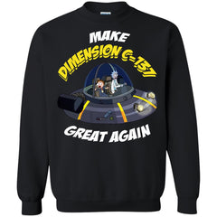 Rick And Morty T shirts Make Dimension C-137 Great Again Hoodies Sweatshirts