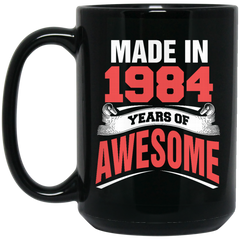 1984 Mug Made In 1984 Year of Awesome Coffee Mug Tea Mug
