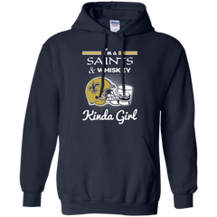 New Orleans Saints shirts I'm a Saints and Whiskey Kinda Girl T-shirts Hoodies Sweatshirts