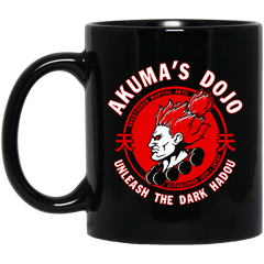 Akuma's Dojo Mug Unleash The Dark Hadou Coffee Mug Tea Mug