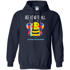 Autism Awareness T-shirts Bee Kind To All Shirts Hoodies Sweatshirts