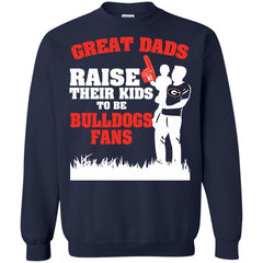 Georgia Bulldogs Father T shirts Great Dads Raise Their Kids To Be Fans Hoodies Sweatshirts