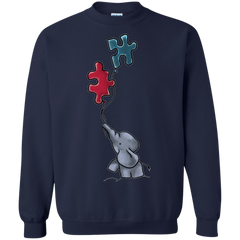 Autism Awareness T-shirts Cute Elephant Shirts Hoodies Sweatshirts