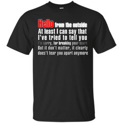 Music Shirts Adele Hello Lyrics Tshirts Hoodies Shirts