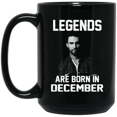 Adam Levine Mug Legends Are Born In December Coffee Mug Tea Mug