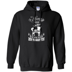 Dog Pitbull T-shirts Heaven Where Place All The Dogs You Ever Loved Run To Greet You Shirts Hoodies Sweatshirts