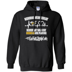 Alabama State Hornets T shirts Heartbeat When My Hornets Playing Hoodies Sweatshirts