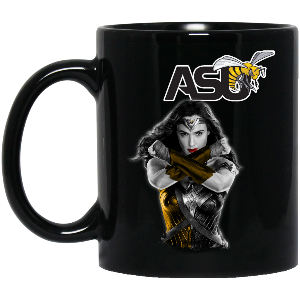 Alabama State Hornets Wonder Woman Women Rights Women March Coffee Mug Tea Mug