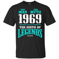 1969 Shirts The Man The Myth The Birth of Legends T-shirts Hoodies Sweatshirts - TeeDoggie.Com
