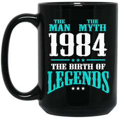 1984 Mug The Man The Myth The Birth of Legends Coffee Mug Tea Mug
