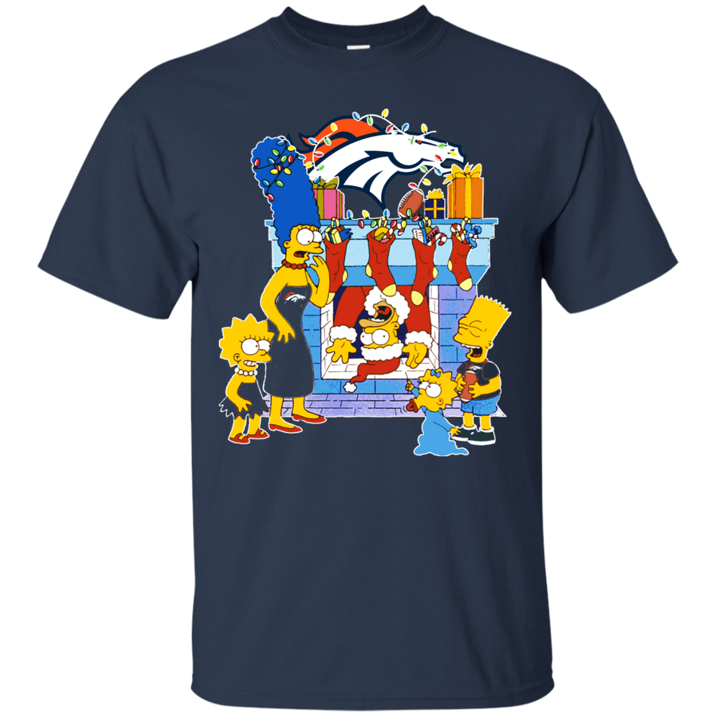 1 Denver Broncos shirts The Simpsons Christmas T-shirts Hoodies Sweatshirts - TeeDoggie.Com