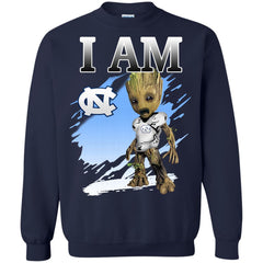 North Carolina Tar Heels Groot I Am T shirts Hoodies Sweatshirts