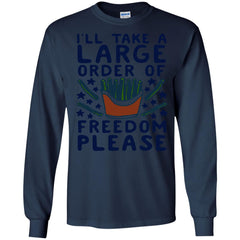 America Shirts LARGE ORDER OF FREEDOM PLEASE T-shirts Hoodies Sweatshirts