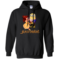 Beauty And The Beast T-shirts Beauty And The minions Shirts Hoodies Sweatshirts