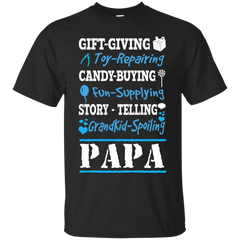Father's Day Shirts Gift Giving Candy Buying Story Telling Papa T shirts Hoodies Sweatshirts