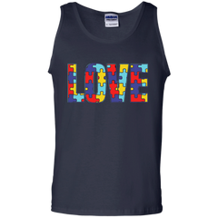 Autism Awareness T-shirts Love With Autism Shirts Hoodies Sweatshirts