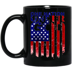 America Mug ONE NATION UNDER GOD Coffee Mug Tea Mug