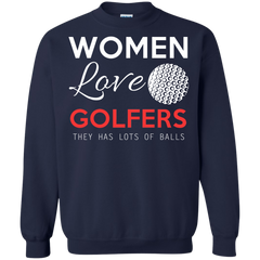 Women Golf Shirts Women Love Golfers They Have Lots Of Balls T-shirts Hoodies Sweatshirts - TeeDoggie.Com