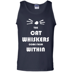 Cat Lovers T-shirts The Cat Whiskers Come From Within Shirts Hoodies Sweatshirts