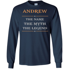 Andrew Shirts Andrew The Name The Myth The Legend T-shirts Hoodies Sweatshirts