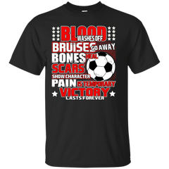 Football shirts Pain Is Temporary Victory Last Forever Shrits Hoodies Sweatshirts