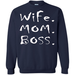 Mother's Day Gift T-shirts Wife Mom Boss Shirts Hoodies Sweatshirts