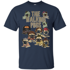 The Walking Dead T-shirts The Walking Pugs Shirts Hoodies Sweatshirts - TeeDoggie.Com
