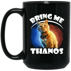 Bring me Thanos Goose the cat mug