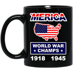 America Mug MERICA WORLD WAR CHAMPS Coffee Mug Tea Mug