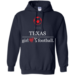 Girls Texas Football Shirts This Texas Girl loves football T-shirts Hoodies Sweatshirts