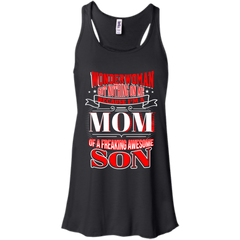 Mother's Day Gift Shirts I'm A Mom Of Freaking Awesome Son T shirts Hoodies Sweatshirts