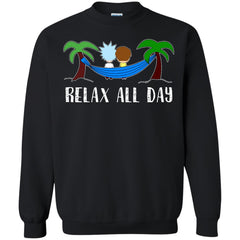 Hammock Day Rick And Morty T shirts Relax All Day Hoodies Sweatshirts