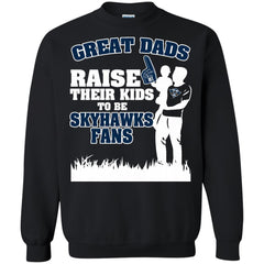 UT Martin Skyhawks Father T shirts Great Dads Raise Their Kids To Be Skyhawks Fans Hoodies Sweatshirts