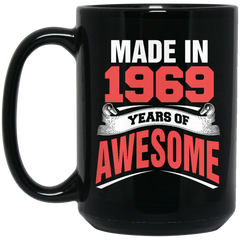 1969 Mug Made In 1969 Year Of Awesome Coffee Mug Tea Mug